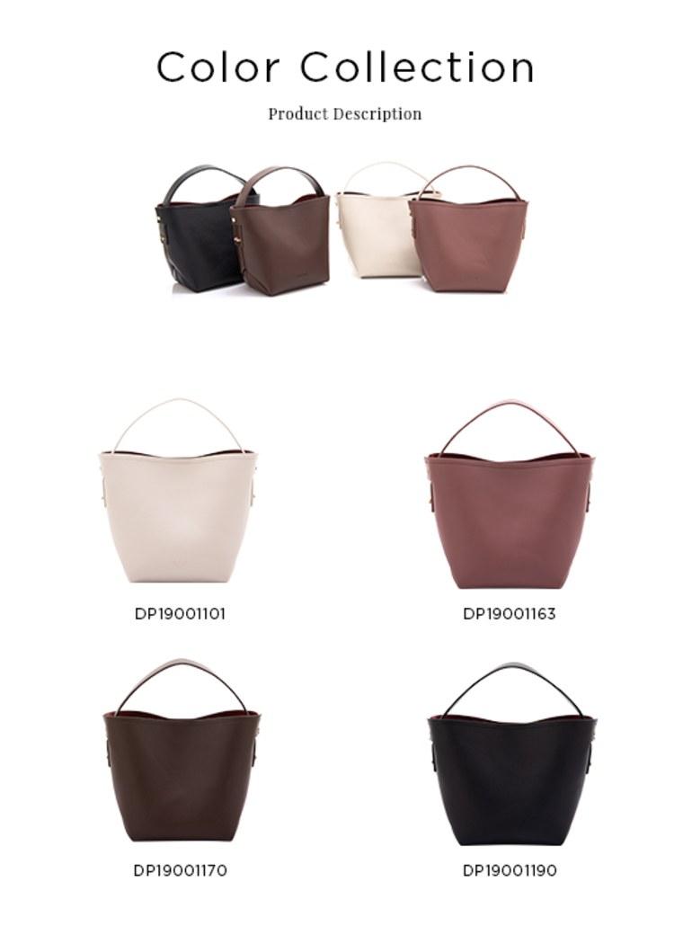 Aura寬背帶側背包水桶包
