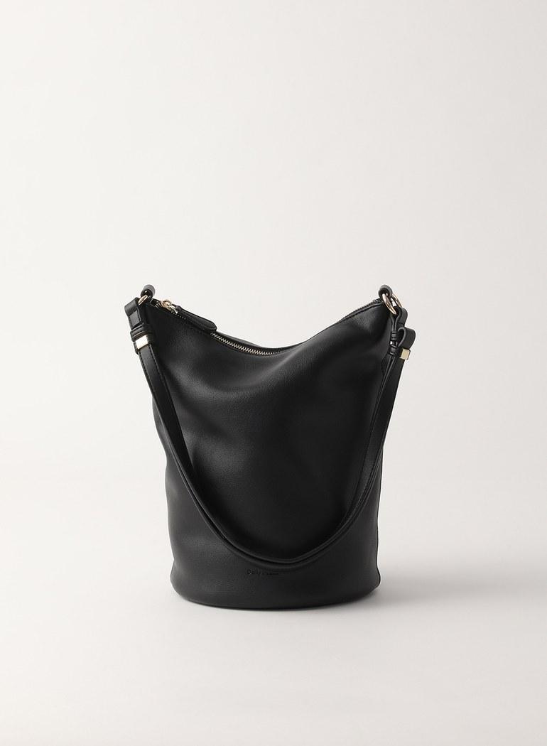 Melted柔軟側背桶包 限時兩件組